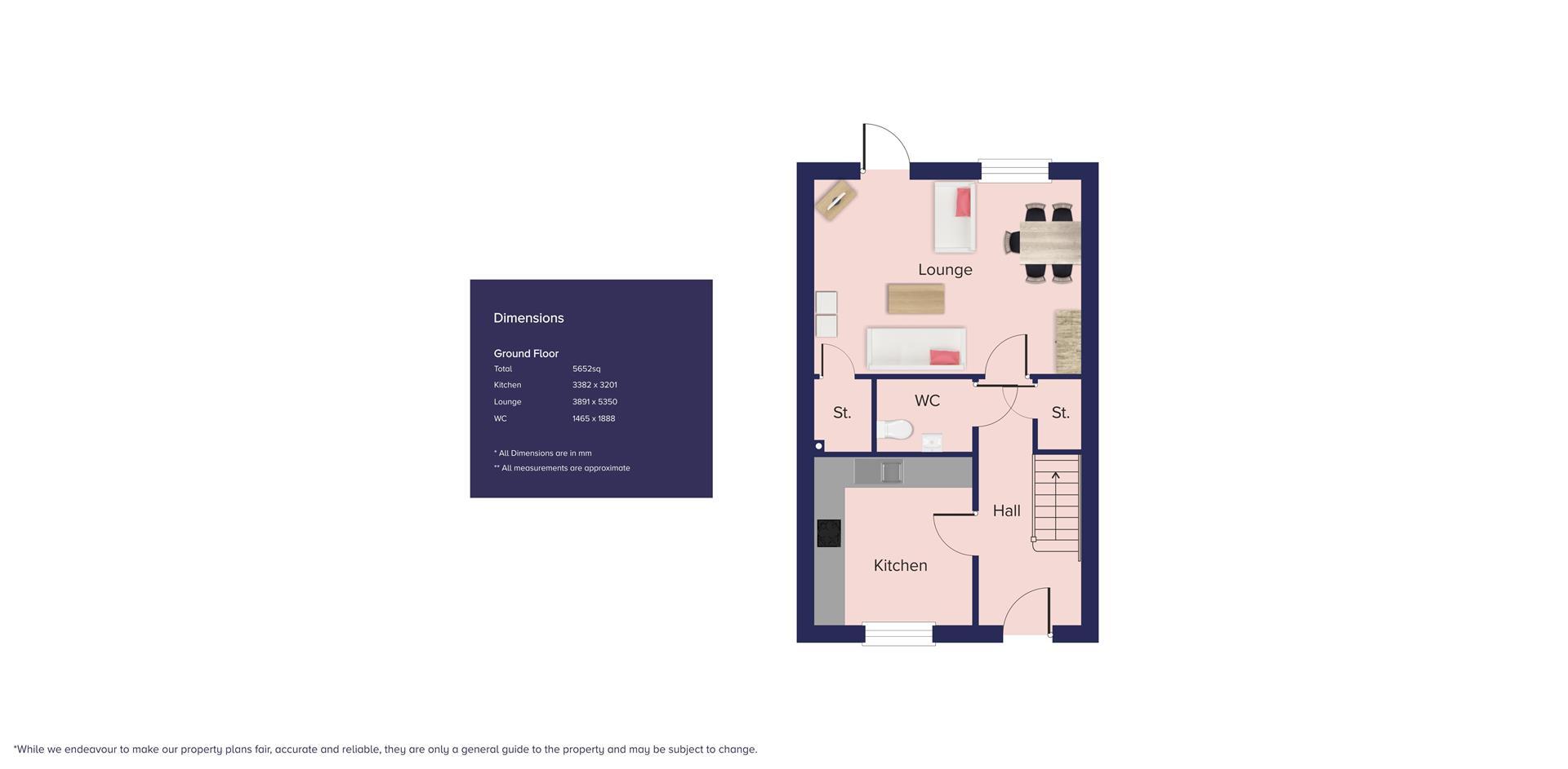 Kingfisher Grange, Bursledon_Plots 115 & 117_GF_B-